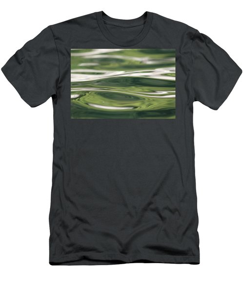 Men's T-Shirt (Slim Fit) featuring the photograph Healing Waters by Cathie Douglas
