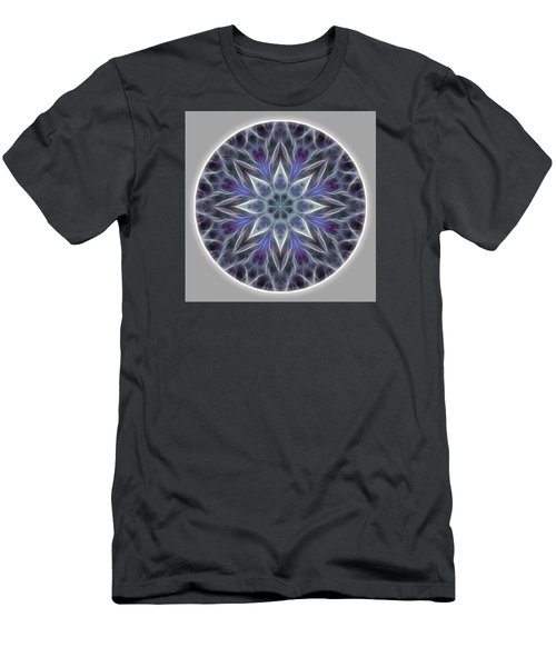 Health And Happiness Mandala Men's T-Shirt (Athletic Fit)