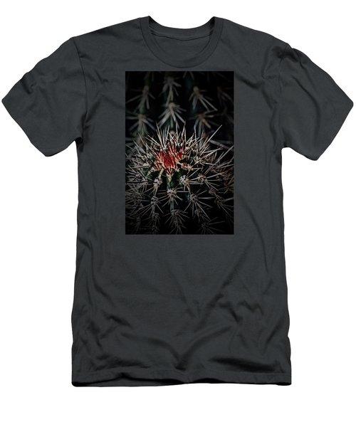 Heart-blood Men's T-Shirt (Slim Fit) by Tim Good