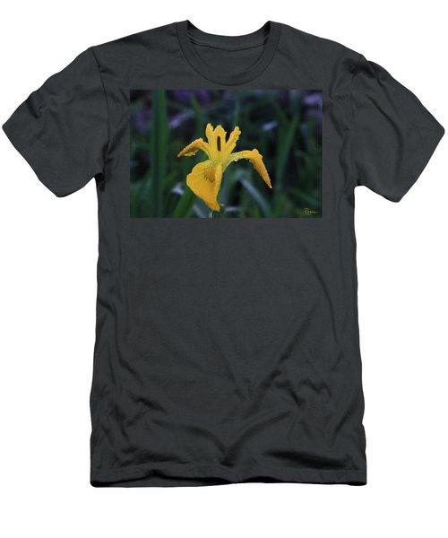 Heart Of Iris Men's T-Shirt (Athletic Fit)