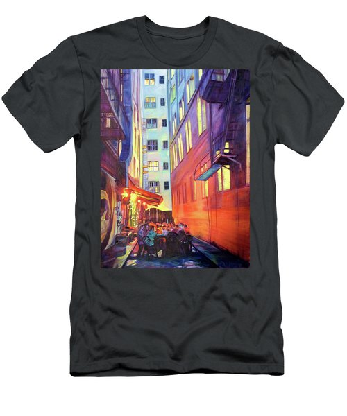 Heart Of The City Men's T-Shirt (Slim Fit) by Bonnie Lambert