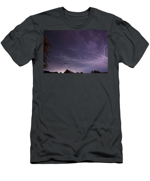Heat Lightning Men's T-Shirt (Athletic Fit)
