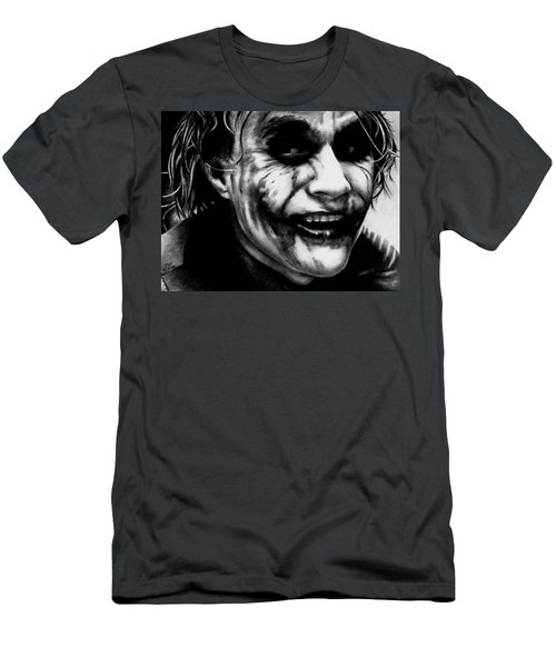Heath Ledger Joker Men's T-Shirt (Athletic Fit)