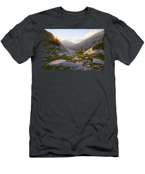 Heaven Can't Wait Men's T-Shirt (Athletic Fit)