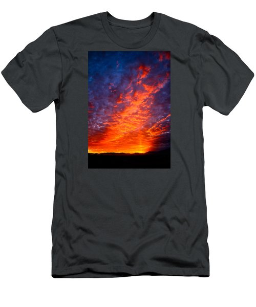 Heavenly Flames Men's T-Shirt (Slim Fit) by Paul Marto