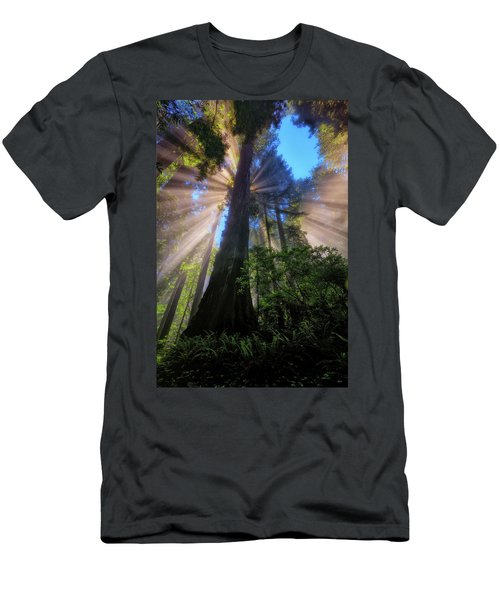Heavenly Light Rays Men's T-Shirt (Athletic Fit)