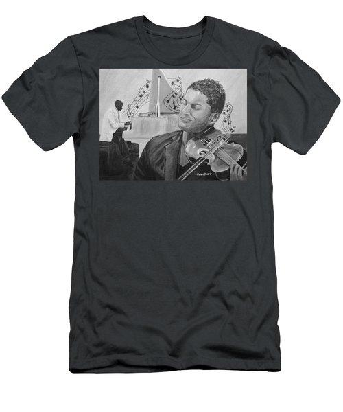 Heavenly Music Men's T-Shirt (Athletic Fit)