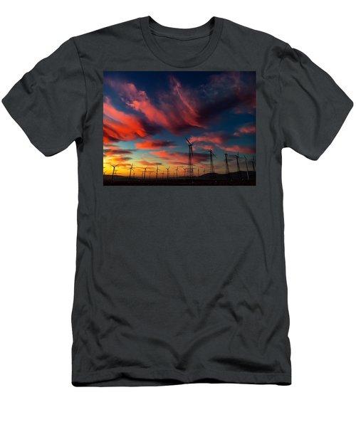 Heavenly Sunrise Men's T-Shirt (Athletic Fit)