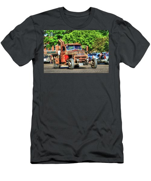 Heavy Duty Custom Dodge Men's T-Shirt (Athletic Fit)