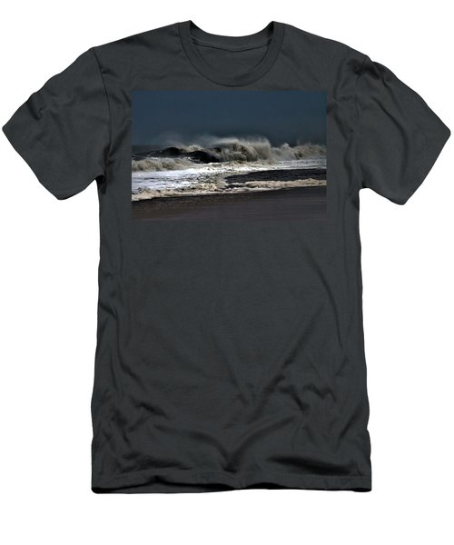 Stormy Surf Men's T-Shirt (Athletic Fit)