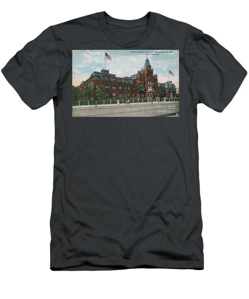 Men's T-Shirt (Athletic Fit) featuring the photograph Hebrew Orphan Asylum by Cole Thompson