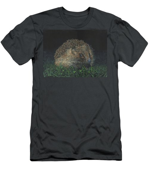 Hedgehog Men's T-Shirt (Athletic Fit)