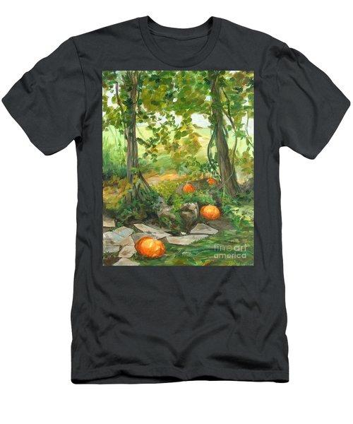Heidi's Pumpkins Men's T-Shirt (Athletic Fit)
