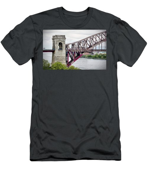 Hellgate In Grey Men's T-Shirt (Athletic Fit)