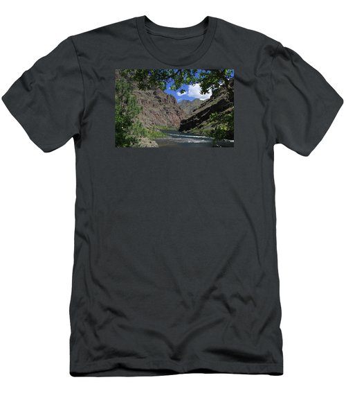 Hells Canyon Snake River Men's T-Shirt (Athletic Fit)