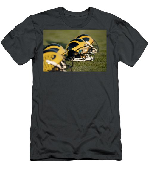 Helmets On The Field Men's T-Shirt (Athletic Fit)
