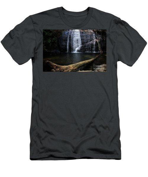 Helton Creek Falls Georgia Men's T-Shirt (Athletic Fit)