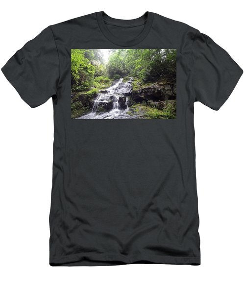 Hen Wallow Falls Great Smoky Mountains National Park Men's T-Shirt (Athletic Fit)