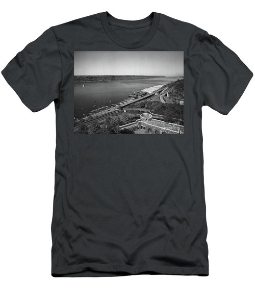 Henry Hudson Parkway, 1936 Men's T-Shirt (Slim Fit) by Cole Thompson