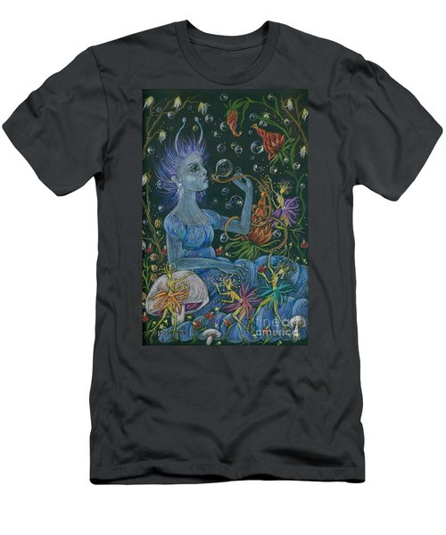 Her Caterpillar Majesty Men's T-Shirt (Slim Fit) by Dawn Fairies