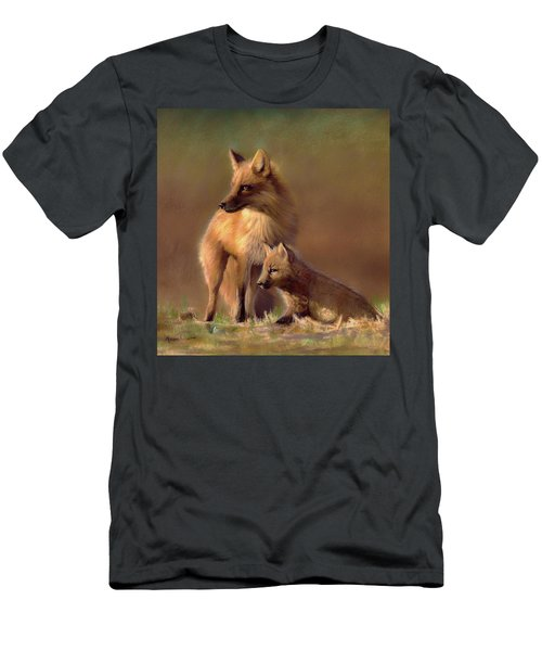 Her Watchful Eye Men's T-Shirt (Athletic Fit)