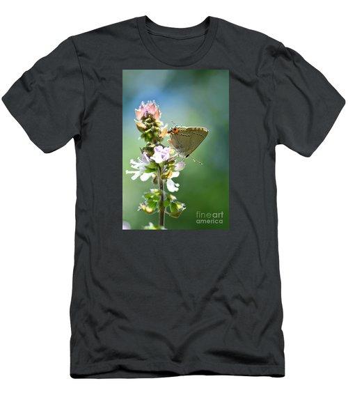 Herb Visitor Men's T-Shirt (Slim Fit) by Debbie Green
