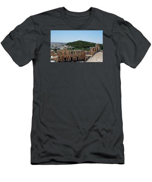 Herodeons Amphitheatre Men's T-Shirt (Slim Fit) by Robert Moss