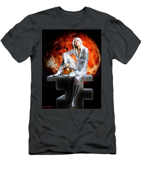 Heroine Of The Red Planet Men's T-Shirt (Athletic Fit)