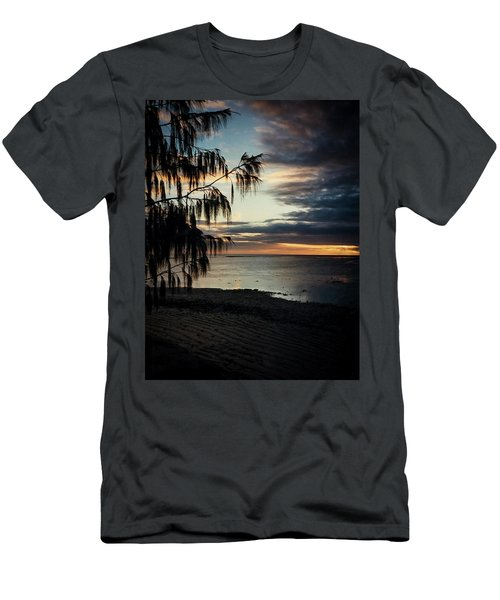 Heron Island Sunset  Men's T-Shirt (Athletic Fit)