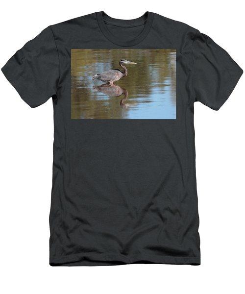 Heron Men's T-Shirt (Athletic Fit)