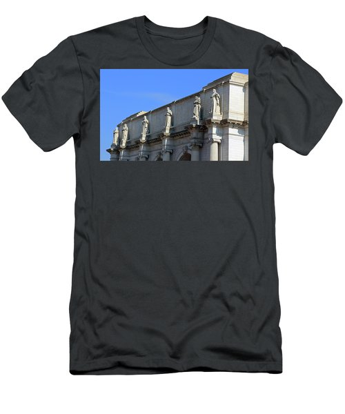 Hey Is That Joe Biden One Statue Said To Another At Union Station Men's T-Shirt (Athletic Fit)