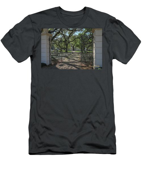 Heyman House Gates 1 Men's T-Shirt (Slim Fit) by Gregory Daley  PPSA