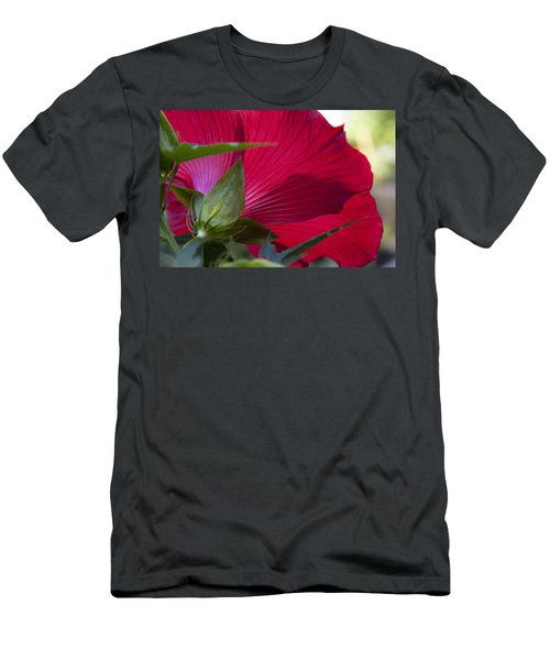 Men's T-Shirt (Slim Fit) featuring the photograph Hibiscus by Charles Harden