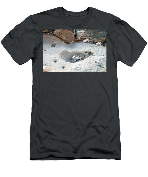 Hidden Shells On Bimini Beach Men's T-Shirt (Athletic Fit)