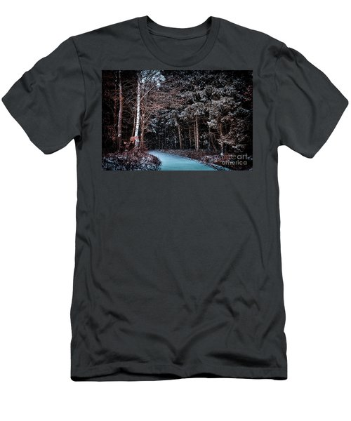 Hidden Steps At Dawn Men's T-Shirt (Athletic Fit)
