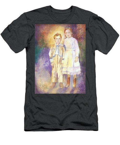 Hidden Treasures Men's T-Shirt (Slim Fit) by Tara Moorman