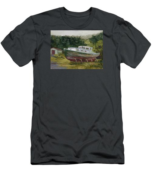 High And Dry Men's T-Shirt (Slim Fit) by Jane Thorpe