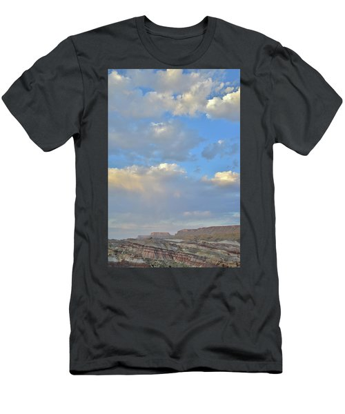 High Clouds Over Caineville Wash Men's T-Shirt (Athletic Fit)