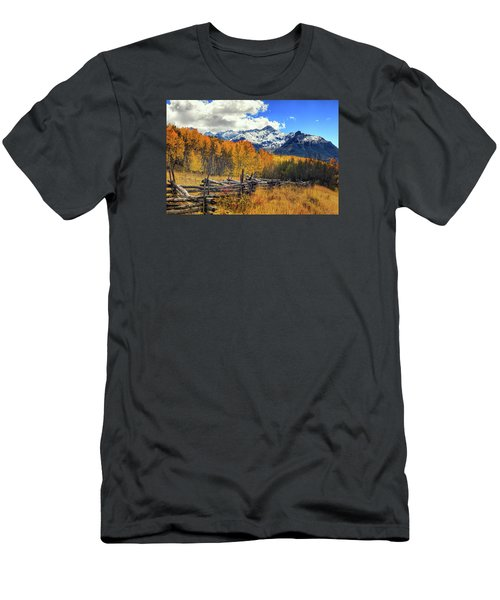 High County Ablaze Men's T-Shirt (Slim Fit) by Rick Furmanek