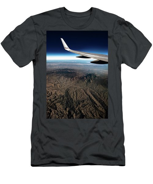 High Desert From High Above Men's T-Shirt (Athletic Fit)