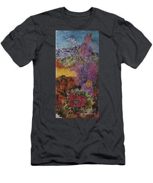 High Desert Spring Men's T-Shirt (Athletic Fit)
