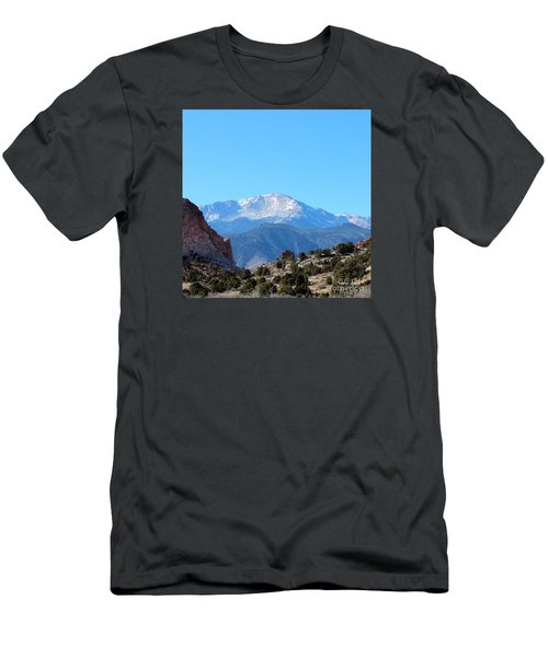 High Desert Winter Men's T-Shirt (Athletic Fit)