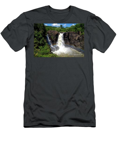 High Falls On Pigeon River Men's T-Shirt (Athletic Fit)