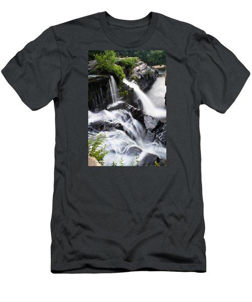 High Falls Park Men's T-Shirt (Athletic Fit)