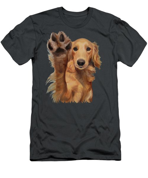 High Five - Apparel Men's T-Shirt (Slim Fit) by Jindra Noewi