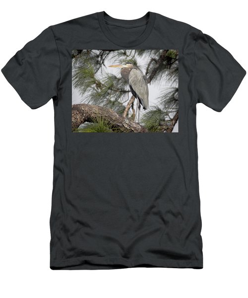 High In The Pine Men's T-Shirt (Athletic Fit)