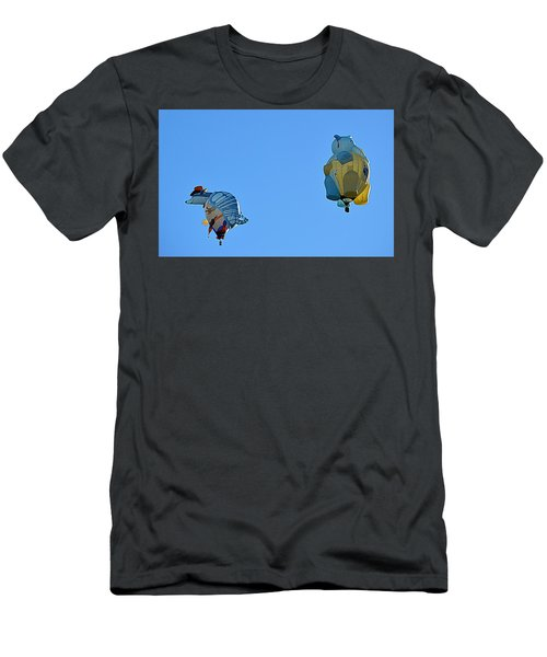 Men's T-Shirt (Athletic Fit) featuring the photograph High Jinx by AJ Schibig