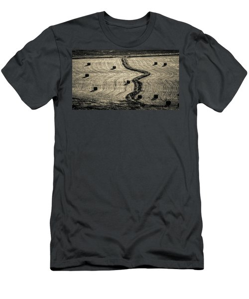 High Mountain Hay Field #3 Men's T-Shirt (Athletic Fit)