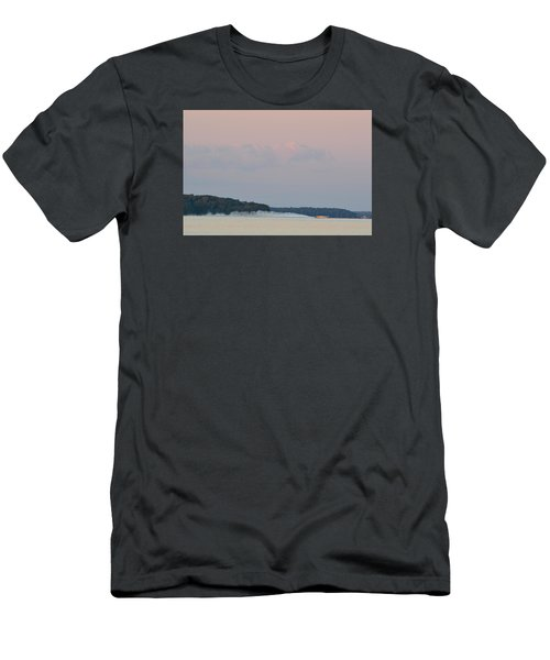 Men's T-Shirt (Slim Fit) featuring the photograph High Speed Boat  by Lyle Crump