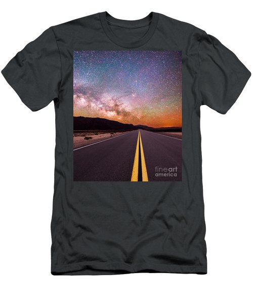 Highway To Heaven Men's T-Shirt (Athletic Fit)